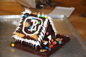 Das Haus - ganz aus Schokolade